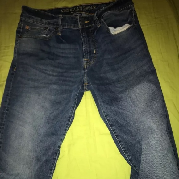 American Eagle Outfitters Denim - American Eagle Jeans Slim Straight 29x30